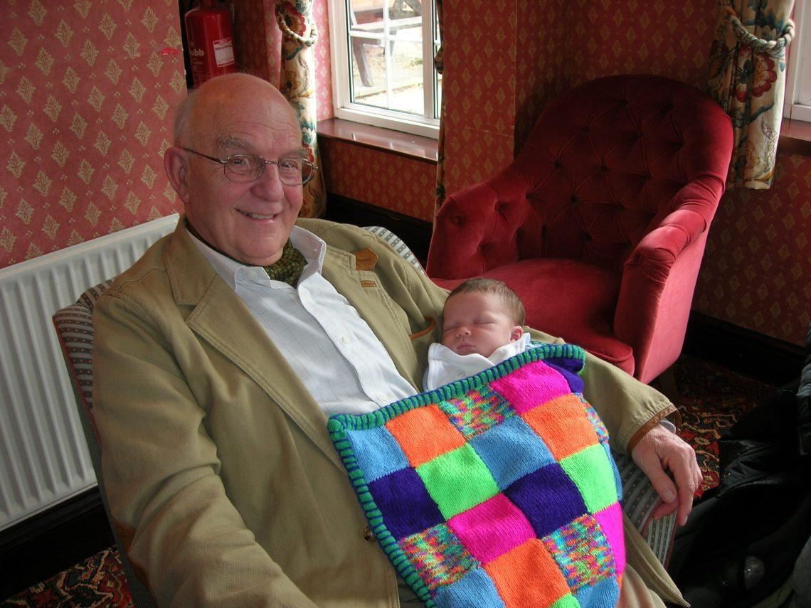 Dad Luca blanket